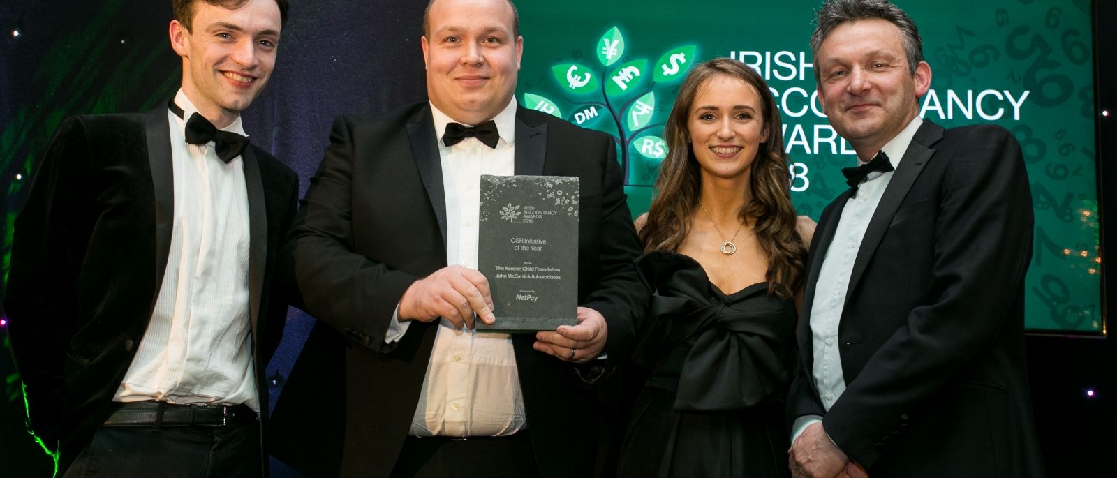 The Irish Accountancy 2018 Winner of CSR Initiative of Year