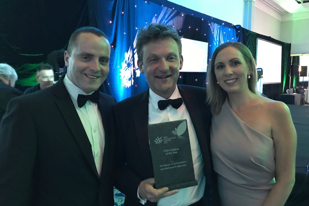 Irish Accountancy Awards 2017 - Winner of CSR Initiative of Year