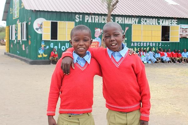 school boys in kenya