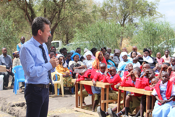 John McCarrick Actively Supporting Schools In Kenya